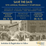 Save the Date for the 10th Annual Pharmacy Symposium
